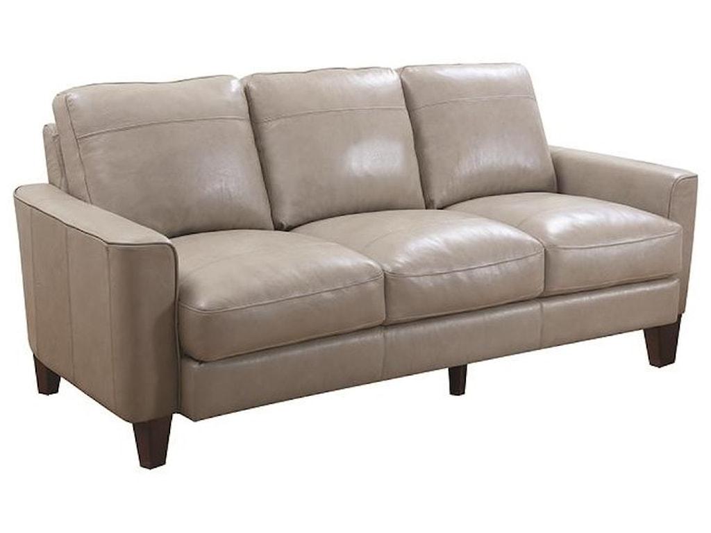 Leather Italia Usa Georgetowne Oakridge 82 Leather Sofa Darvin