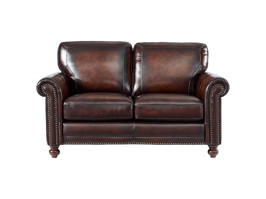 Leather Italia USA HamptonLoveseat
