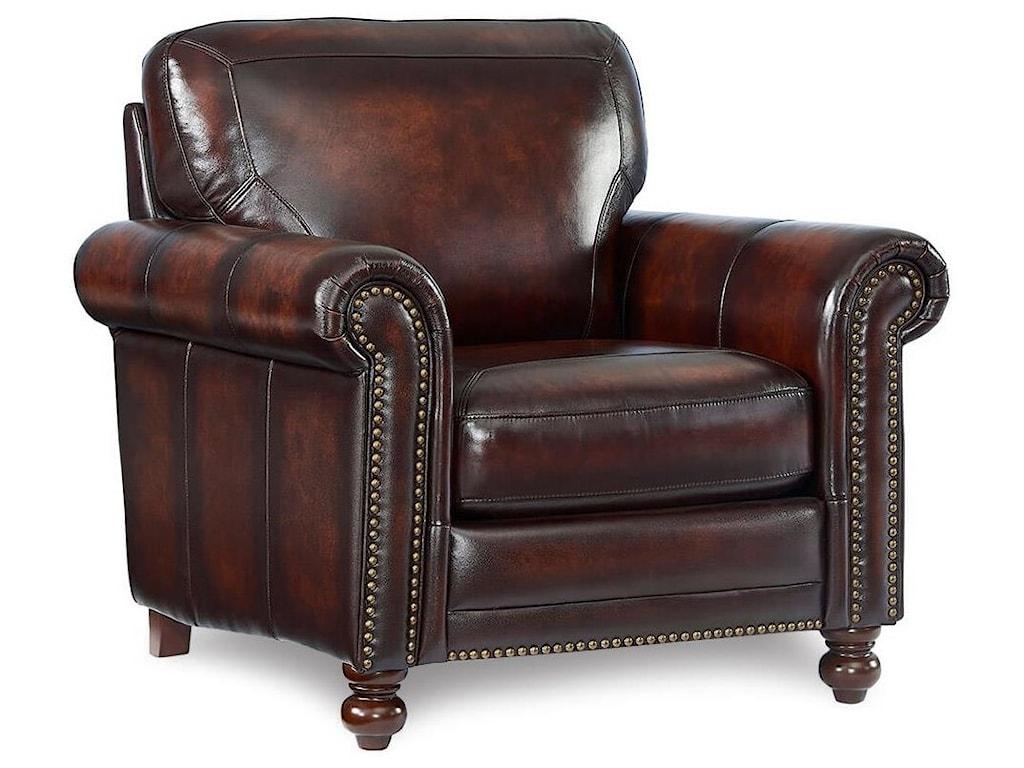 Leather Italia USA WestinLeather Push Back Recliner