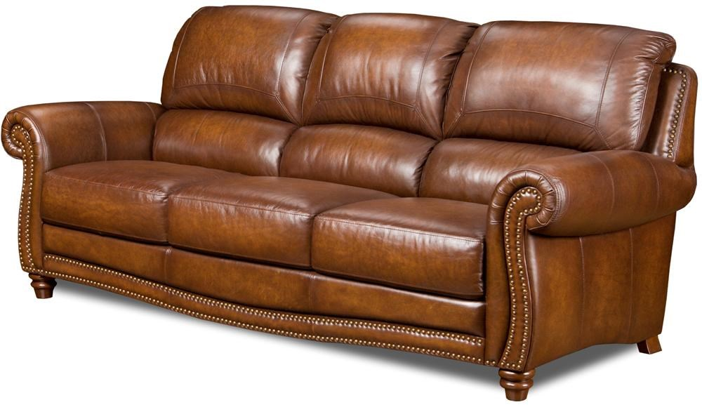 Leather Italia USA ParkerStationary Sofa