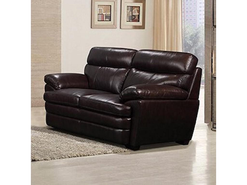 Leather Italia USA ShaeLoveseat