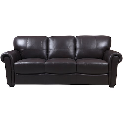 Leather Italia Usa Shae Branson Sofa