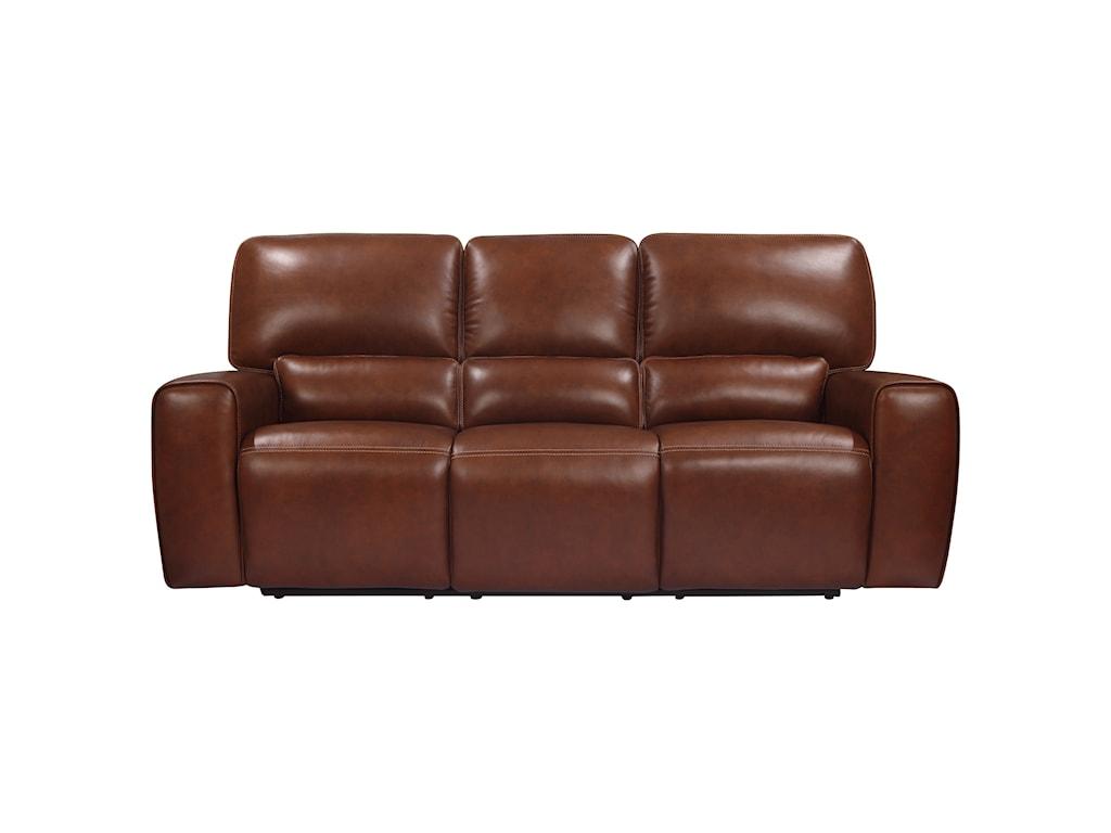Leather Italia USA BroadwayPower Reclining Sofa