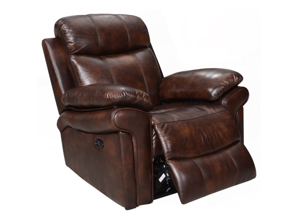 Leather Italia USA Shae - JoplinLeather Power Recliner