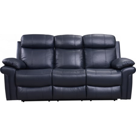Power Reclining Leather Sofa