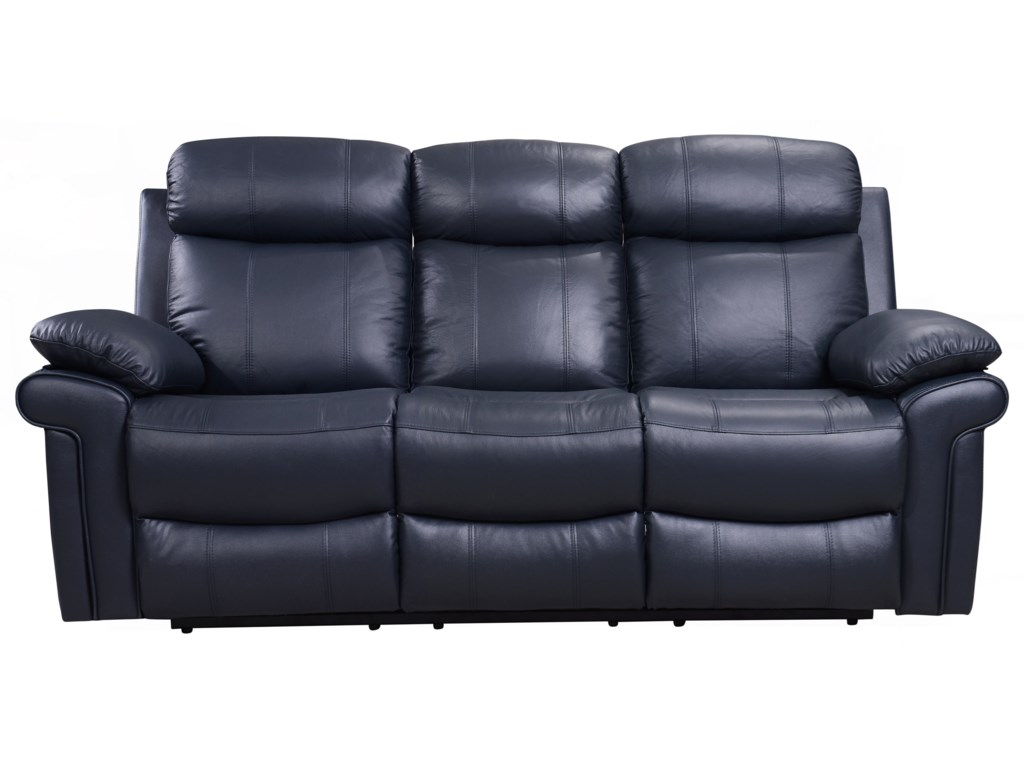 Shae - Joplin Power Reclining Leather Sofa by Leather Italia USA at Lindy\'s  Furniture Company