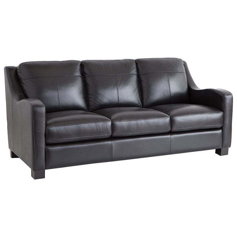 Superbe Leather Italia USA Westport   PresleySofa ...