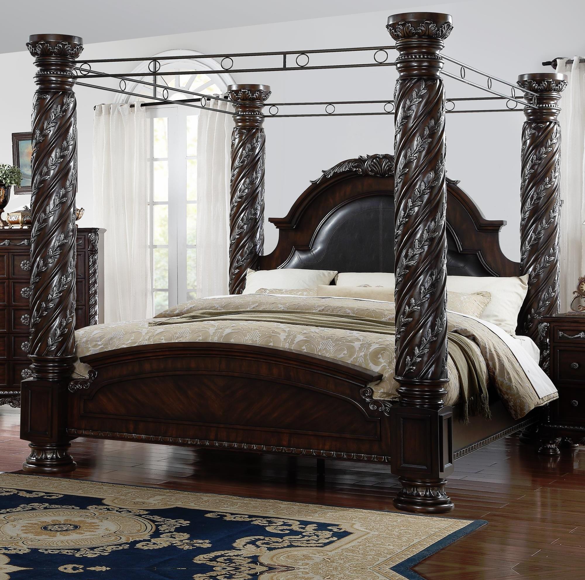 Lee Furniture La RochelleKing Canopy Bed ...