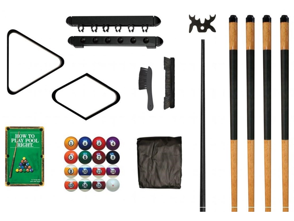 Legacy Billiards Game Room AccessoriesDeluxe Pool Table Kit