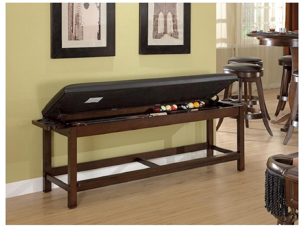 Legacy Billiards Game Room AccessoriesBench
