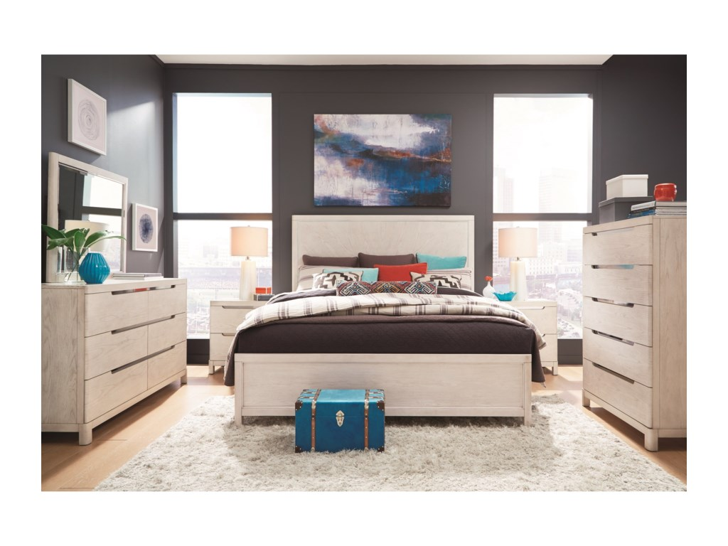 Legacy Classic 11 WestQueen Storage Bedroom Group