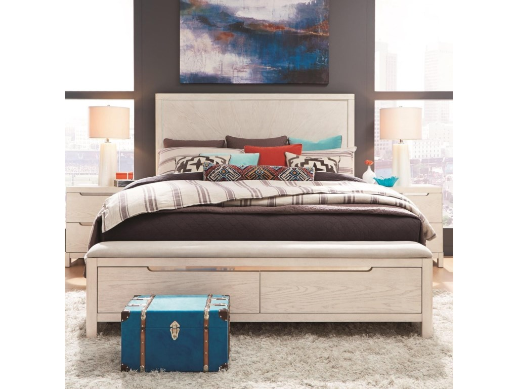 Legacy Classic 11 WestQueen Panel Storage Bed