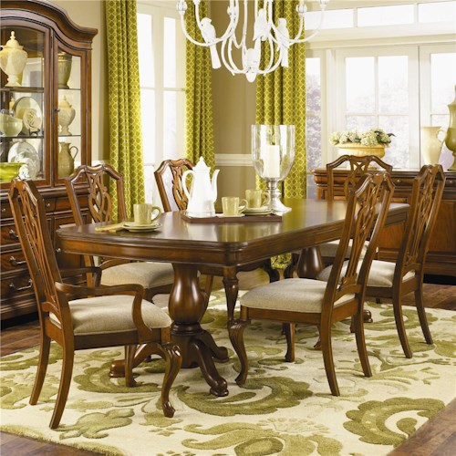 Legacy Classic Evolution Nine Piece Table and Chair Set