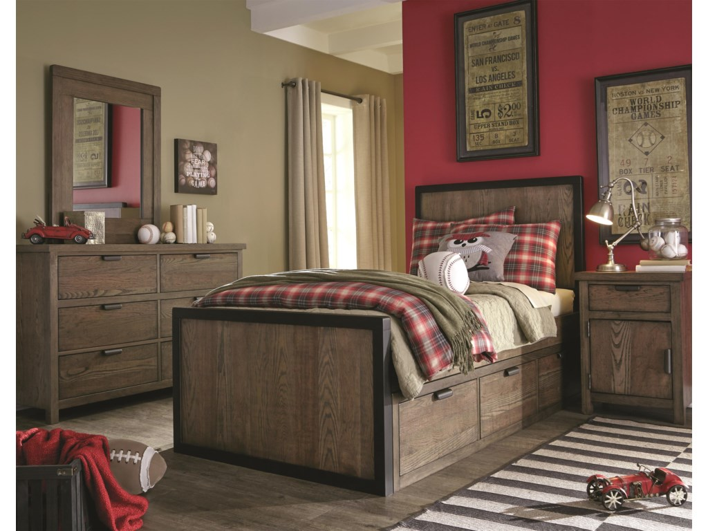 Legacy Classic Twin Panel BedNight Stand
