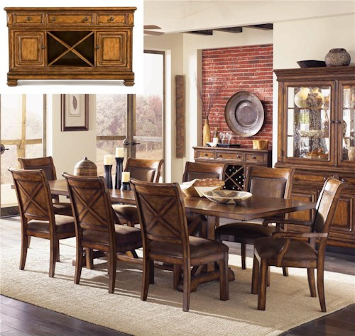 Legacy Classic Larkspur 8Pc Dining Room