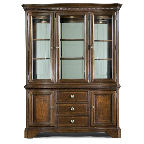 Legacy Classic American Traditions China Cabinet w/ Buffet & China Hutch