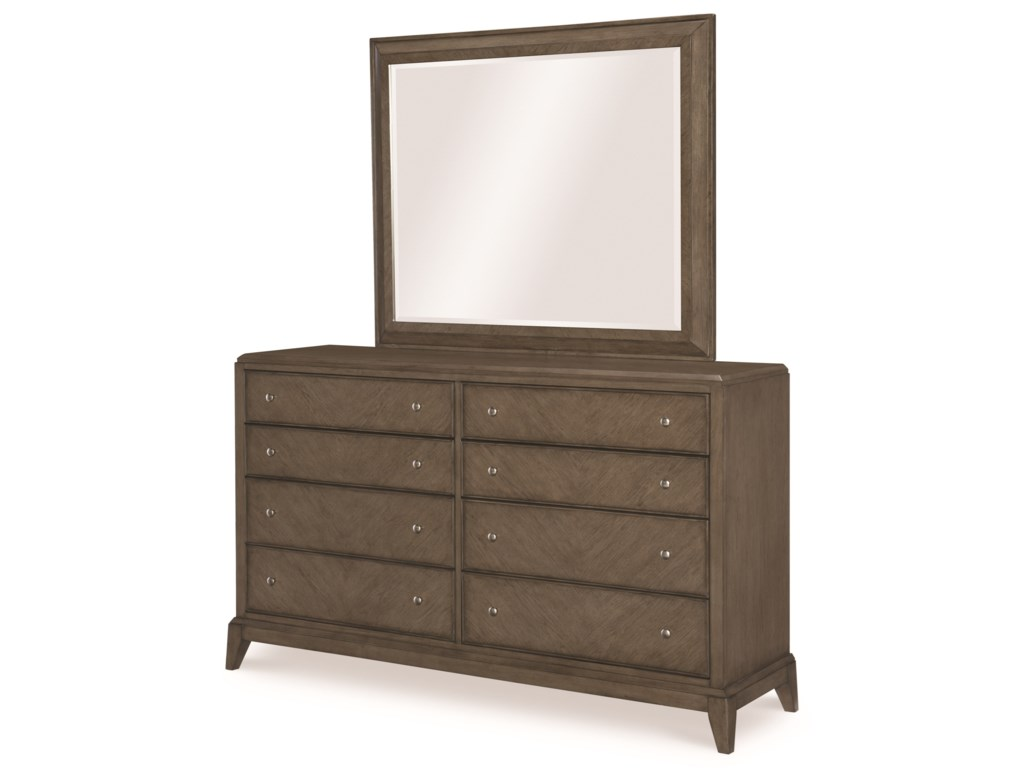 Legacy Classic ApexDresser and Mirror Set