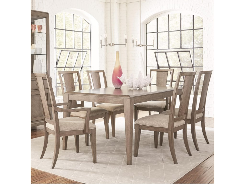 Legacy Classic Apex7 Piece Rectangular Table and Chair Set