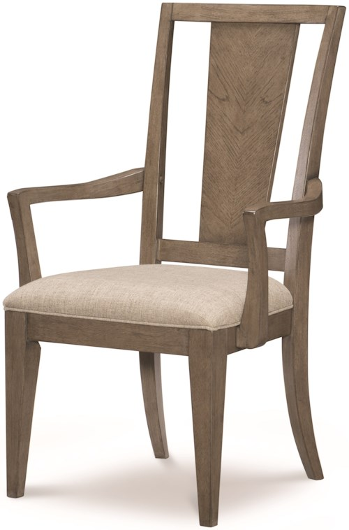 Legacy Classic Apex Splat Back Arm Chair with Upholstered Seat