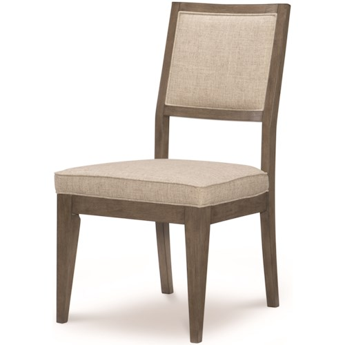 Legacy Classic Apex Casual Upholstered Back Side Chair