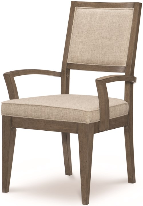 Legacy Classic Apex Casual Upholstered Back Arm Chair