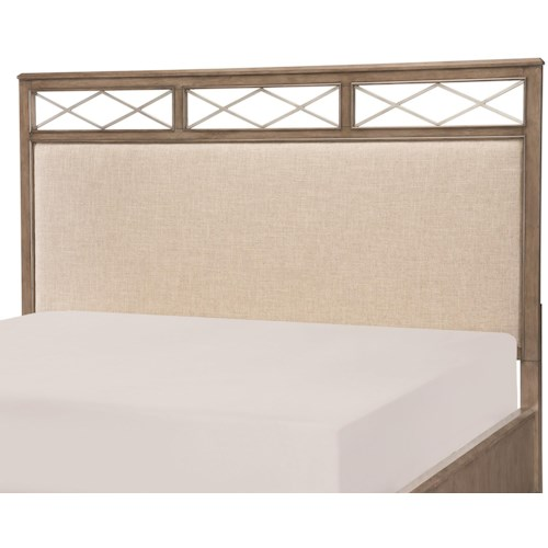 Legacy Classic Apex Queen Upholstered Platform Headboard