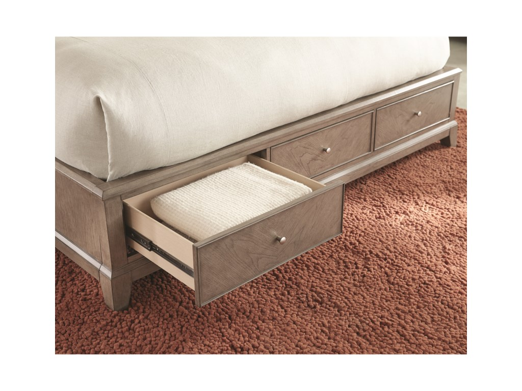 Legacy Classic ApexKing Upholstered Platform Bed with Storage