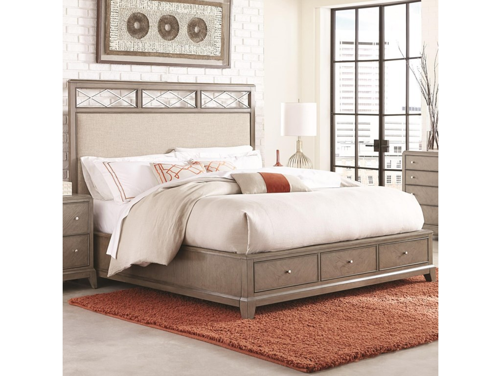 Legacy Classic ApexCalifornia King Upholstered Platform Bed