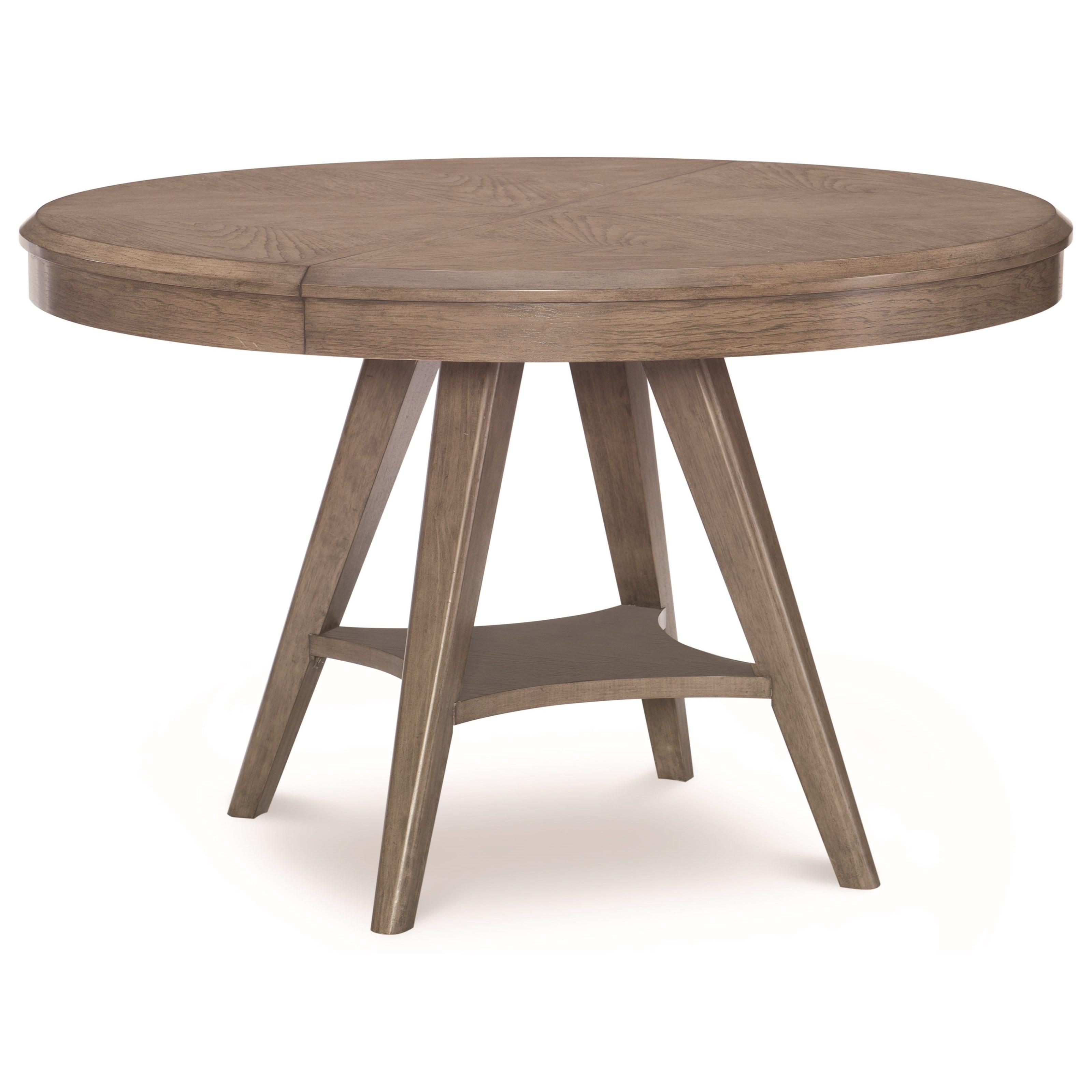 Attirant Legacy Classic ApexRound To Oval Pedestal Table ...