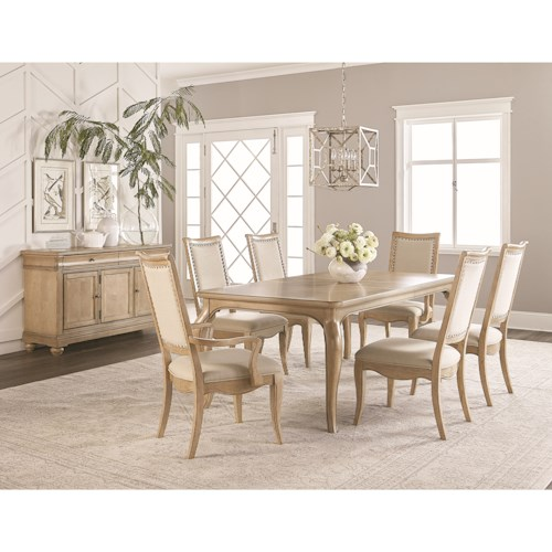 Legacy Classic Ashby Woods Dining Room Group with Credenza
