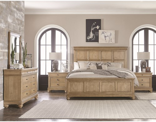 Legacy Classic Ashby Woods Queen Bedroom Group