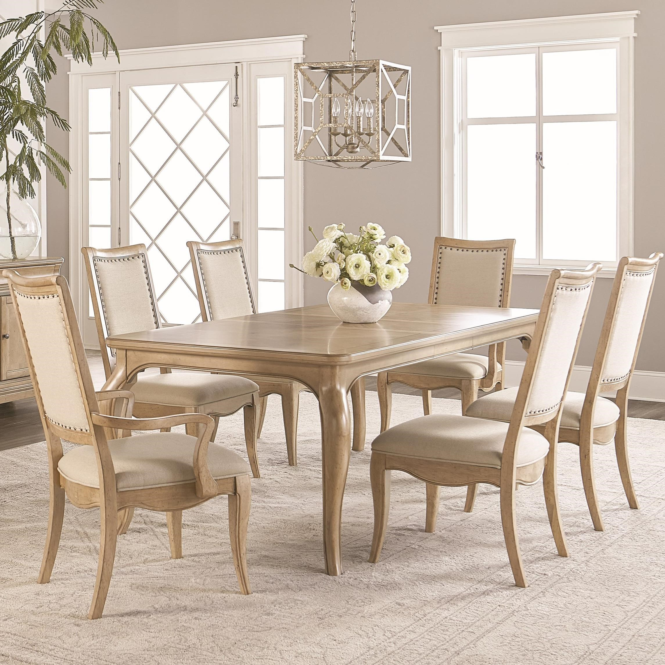 7 piece dining table extendable dining ashby woods piece dining table and chair set by legacy classic