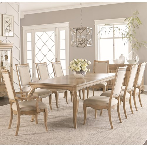 Legacy Classic Ashby Woods 9 Piece Dining Table and Chair Set