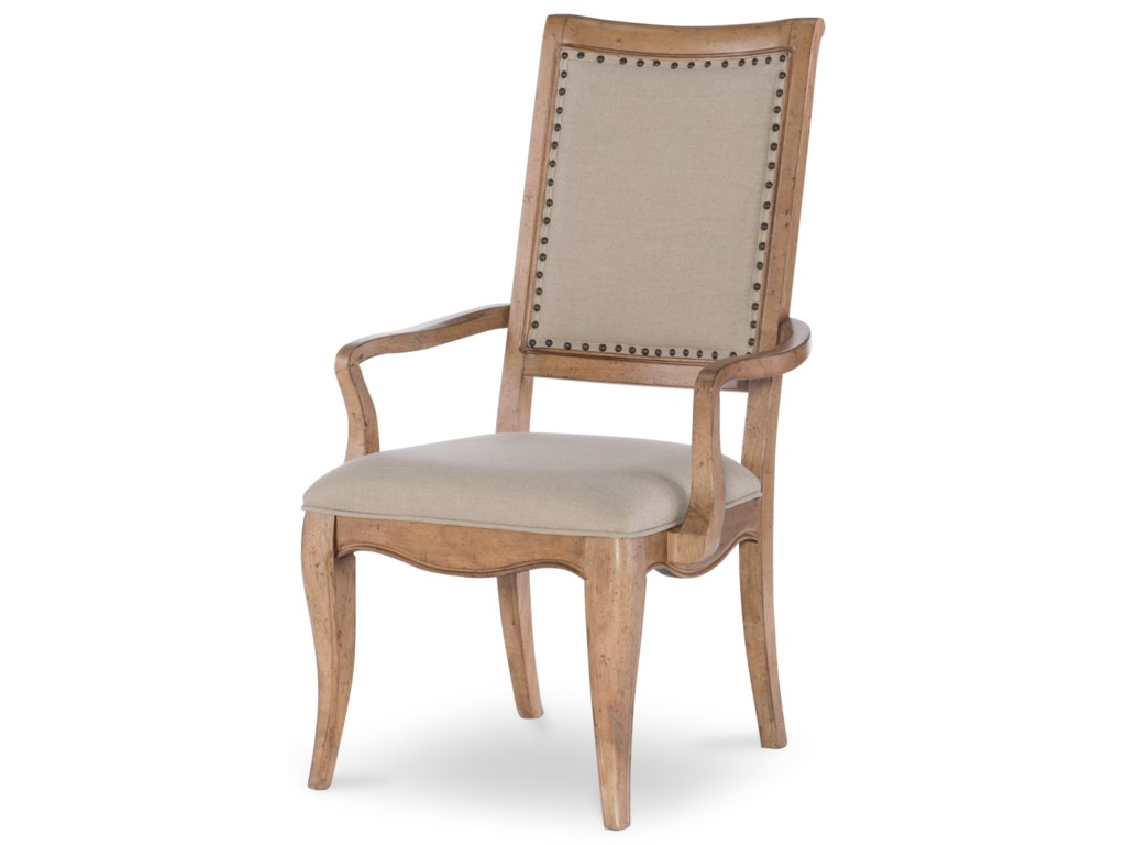 Legacy Classic Ashby WoodsUpholstered Back Arm Chair
