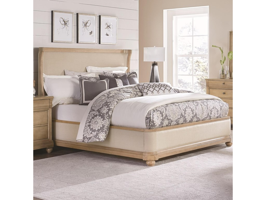 Legacy Classic Ashby WoodsUpholstered Queen Bed