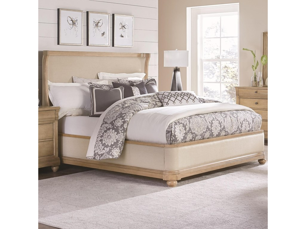 Legacy Classic Ashby WoodsUpholstered California King Bed