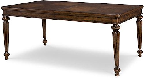 Legacy Classic Barrington Farm Rectangular Leg Table with 2 Leaves