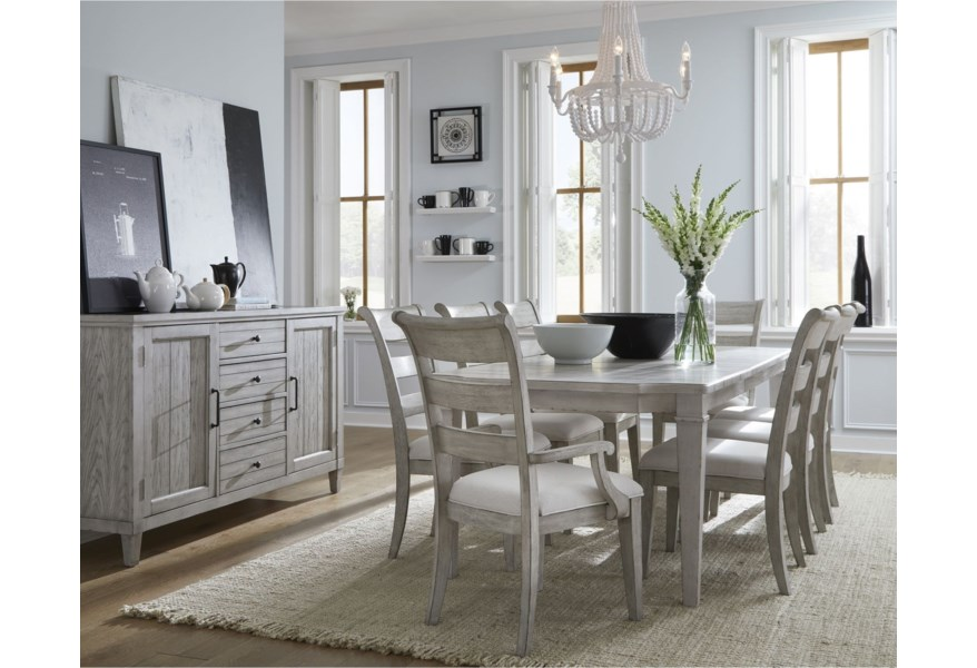 Legacy Classic Belhaven Formal Dining Room Group Belfort Furniture Formal Dining Room Groups