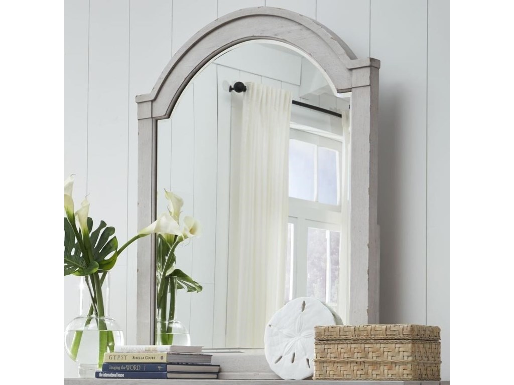 Legacy Classic BelhavenArched Dresser Mirror