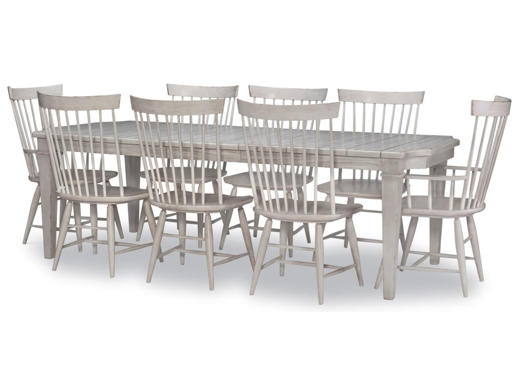 Legacy Classic Belhaven9-Piece Table and Chair Set