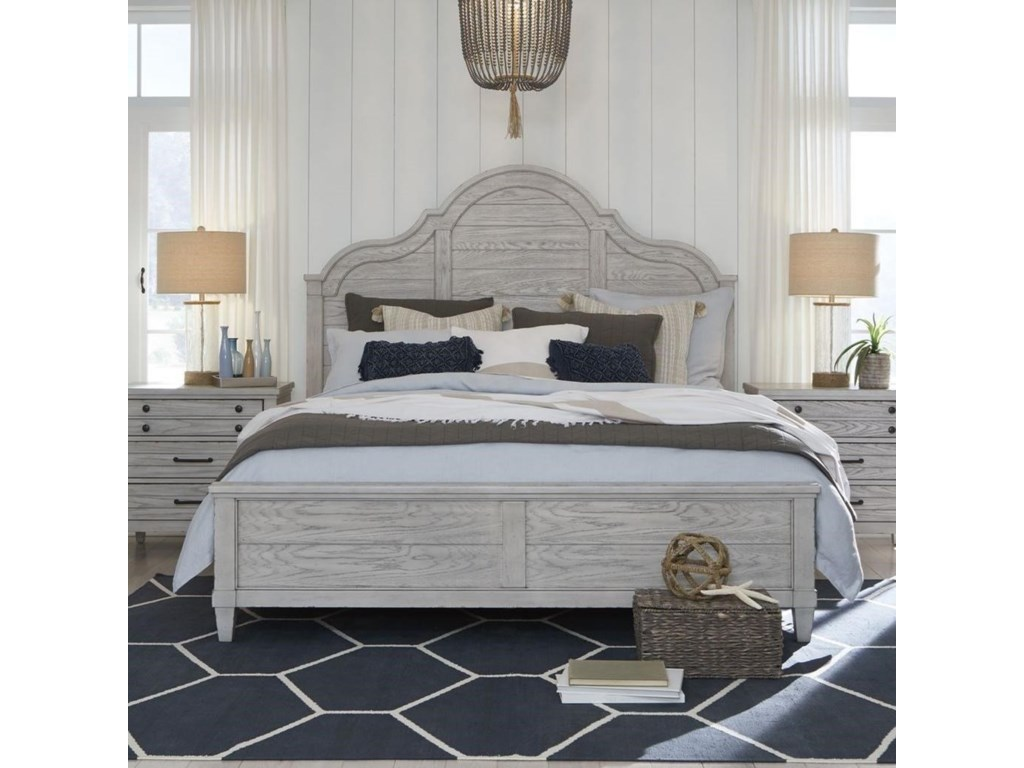 Legacy Classic BelhavenKing Arched Panel Bed