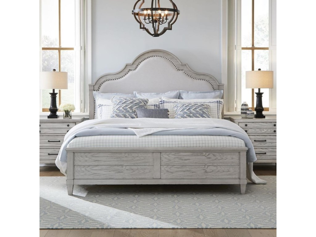 Legacy Classic BelhavenQueen Upholstered Panel Bed