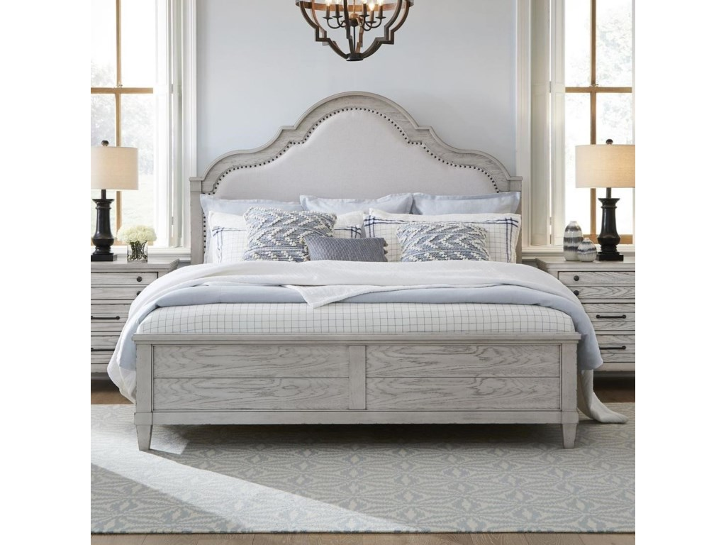 Legacy Classic BelhavenKing Upholstered Panel Bed