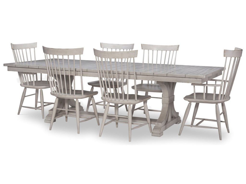 Legacy Classic Belhaven7-Piece Table and Chair Set