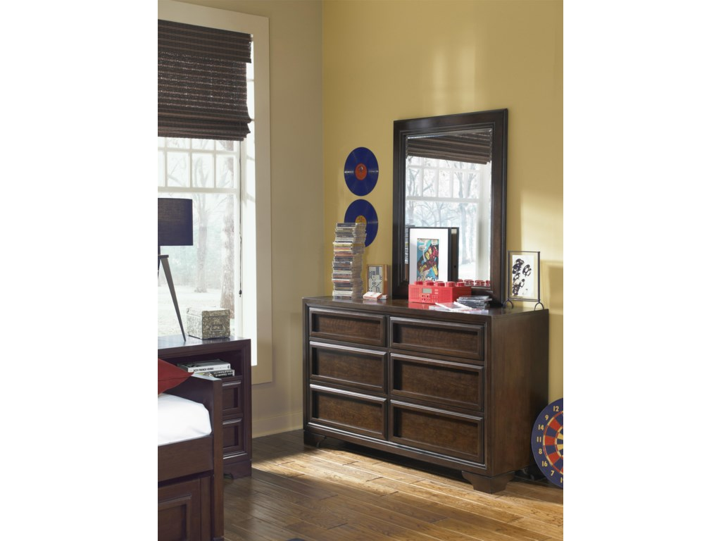 Legacy Classic Kids BenchmarkDresser and Mirror Set