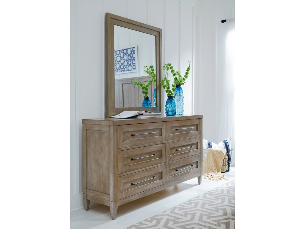 Legacy Classic BreckenridgeDresser and Mirror Set