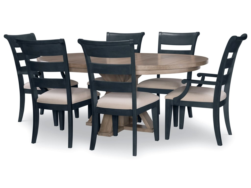 Legacy Classic Breckenridge7-Piece Table and Chair Set