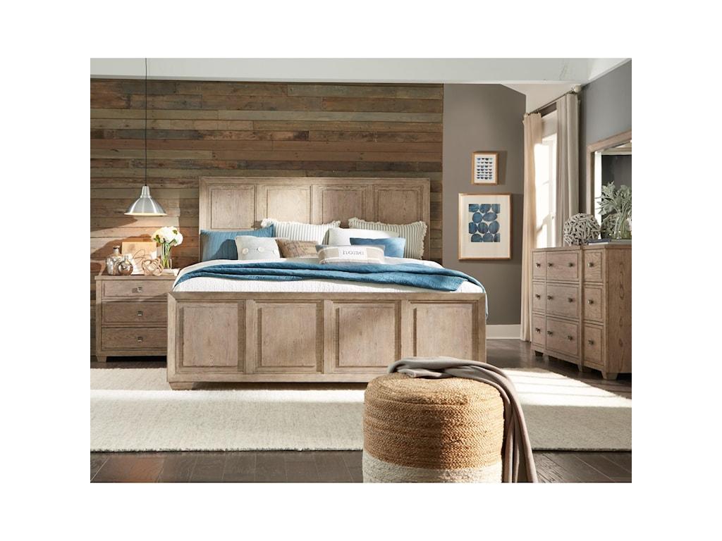 Legacy Classic BridgewaterQueen Panel Bed
