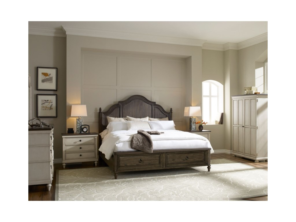 Legacy Classic BrookhavenQueen Bedroom Group