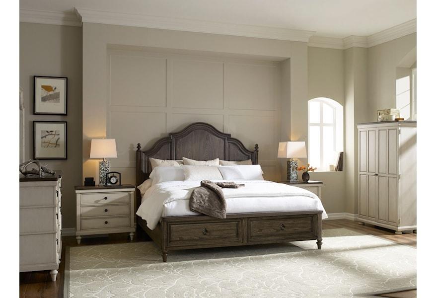 Legacy Classic Brookhaven Queen Bedroom Group Belfort Furniture Bedroom Groups